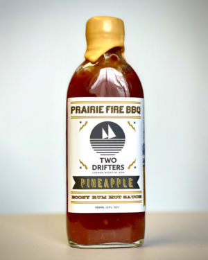 Two Drifters Pineapple Boozy Rum Hot Sauce